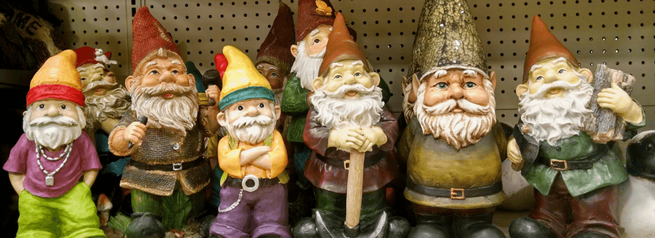 Real Gnomes: The Gnomes Of Gnomesville In Ferguson Valley