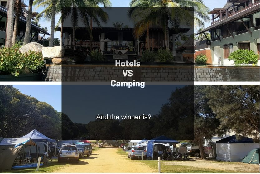 camping in opposition to accommodation essay