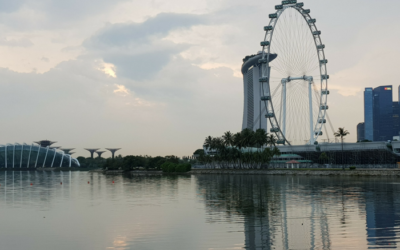 The Memorable and Stunning Evening Walk in Singapore to Remember