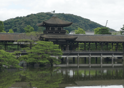 the Heian Jingu Shrine