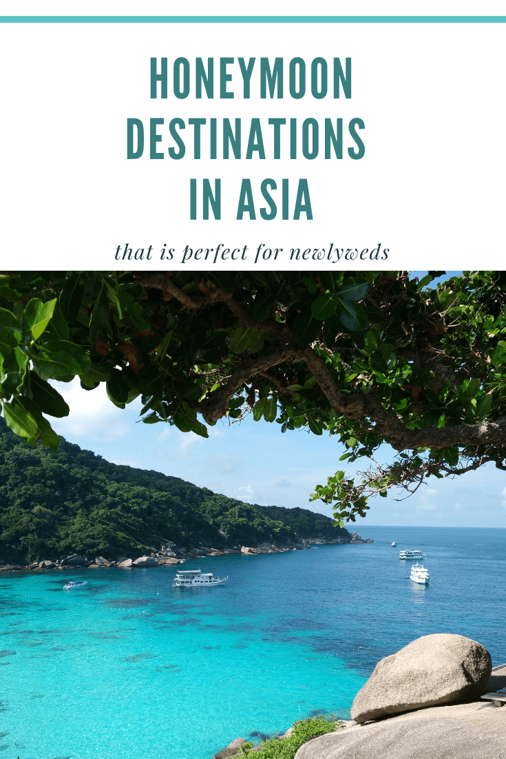 Cheap And Best Honeymoon Destinations In Asia For Couples