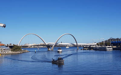 Elizabeth Quay Perth – The Waterfront of the Swan River and Perth City
